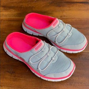 Sketchers Mules Slides Sneakers Athletic Shoes